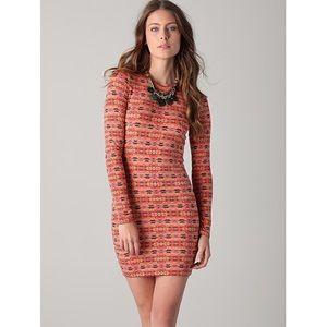 Torn by Ronny Kobo Jersey Mini Dress